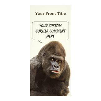 Kundenspezifische Gestellkarten des lustigen Werbekarte