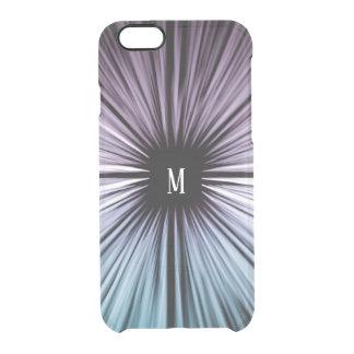Kundenspezifische göttliche schöne Kunst rays Durchsichtige iPhone 6/6S Hülle