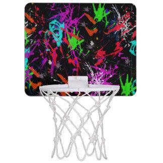 Kundenspezifische Graffiti drucken Mini Basketball Ring