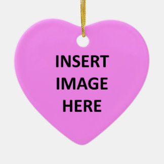 Kundenspezifische Herz-Verzierungs-Schablone Weihnachtsornament