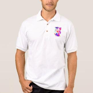 Kundenspezifische Hintergrund-Farborange Stern Shirts