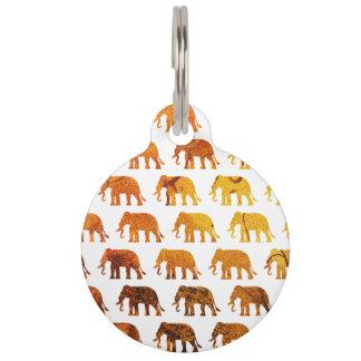 Kundenspezifische Hintergrundfarbe des Tiernamensmarke