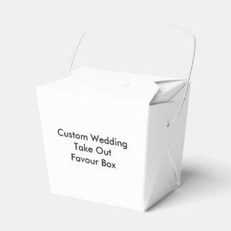 Kundenspezifische Hochzeit nehmen Geschenkkartons