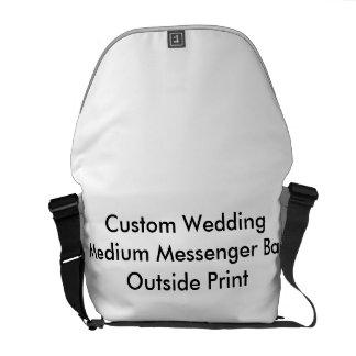 Kundenspezifische Hochzeits-mittlere Kurier Tasche