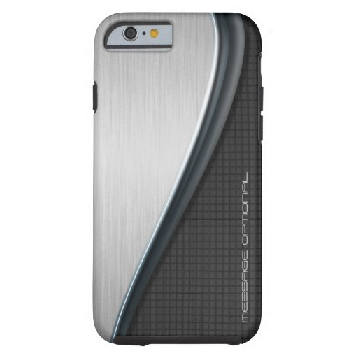 Kundenspezifische Hüllen des Metallentwurfs-1 Tough iPhone 6 Hülle