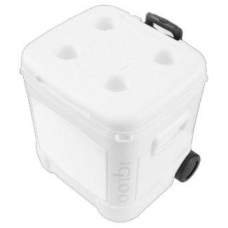 Kundenspezifische Iglu-Rolle cooler Kühlbox Mit Rollen