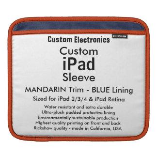 Kundenspezifische iPad Hülse - horizontal Sleeve Für iPads