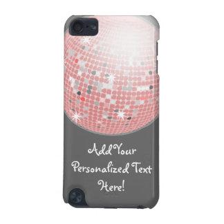 Kundenspezifische iPod-Touch des rosa und grauen iPod Touch 5G Hülle