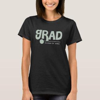 Kundenspezifische Jahr-u. Text-Abschluss-T - T-Shirt