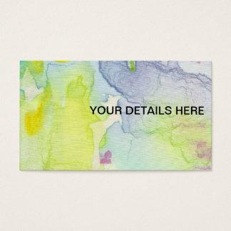 Kundenspezifische Karte des künstlerischen