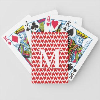 Kundenspezifische Karten - rotes weißes