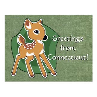 Kundenspezifische Kitz-Postkarte Postkarte