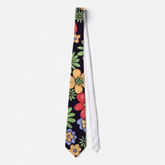Kundenspezifische klare bunte Blumen Krawatte