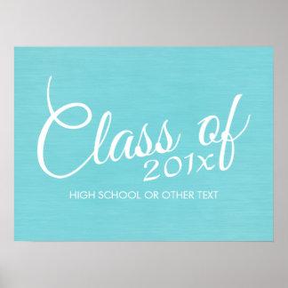Kundenspezifische Klasse von für Abschluss-oder Poster