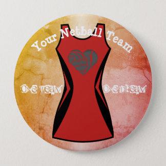 Kundenspezifische Kleiderfarbpersonalisiertes Runder Button 10,2 Cm