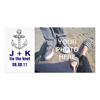 Kundenspezifische Krawatte der Knoten Individuelle Photo Karten