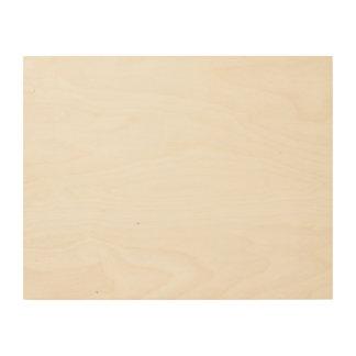 Kundenspezifische Leinwand des Holz-14x11 Holzdruck