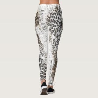 Kundenspezifische Leopard-Gamaschen Leggings