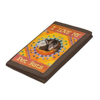 Kundenspezifische Liebe des Ratten-Foto-I meine