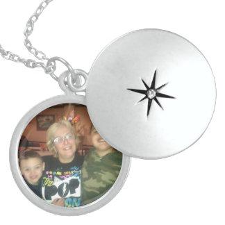 kundenspezifische Lockethalskette Runde Medaillon Halskette