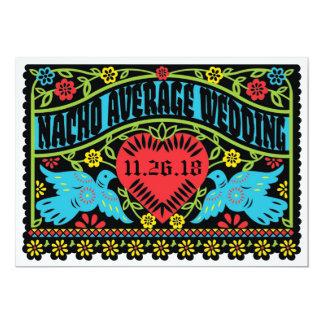 Kundenspezifische Lovebirds Papel Picado Fahne Karte