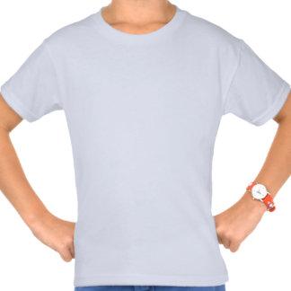 Kundenspezifische Mädchen grundlegender Hanes T - T-Shirts
