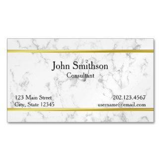 Kundenspezifische Marmorbeschaffenheit mit Visitenkartenmagnet