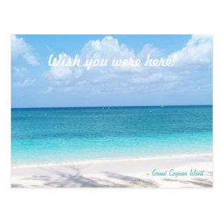 Kundenspezifische Mitteilungs-Grand Cayman Postkarte