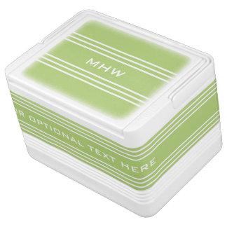 Kundenspezifische Monogrammkühlvorrichtungen der Igloo Kühlbox
