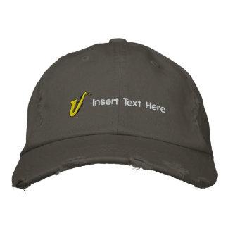 Kundenspezifische Musiker stickten Hut Bestickte Kappen