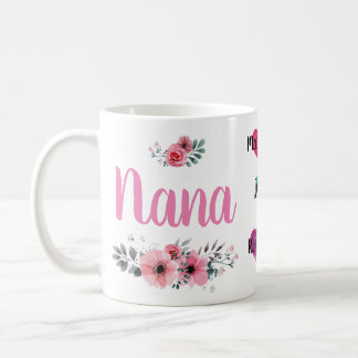 Kundenspezifische Nana-Tasse mit Grandchildrens Kaffeetasse