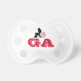 Kundenspezifische Netball-Spieler-Positionen Schnuller