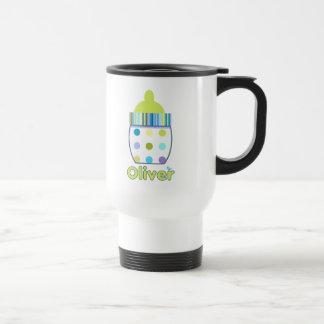Kundenspezifische Oliver-Baby-Flasche Reisebecher