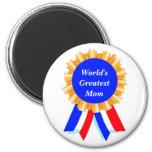 Kundenspezifische personalisierte blaues runder magnet 5,1 cm