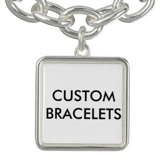 Kundenspezifische personalisierte charm armband