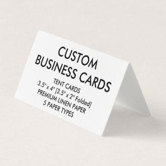 Kundenspezifische personalisierte gefaltete visitenkarten