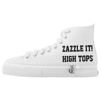 Kundenspezifische personalisierte hoch-geschnittene sneaker