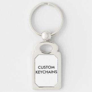 Kundenspezifische personalisierte Keychain leere Schlüsselanhänger