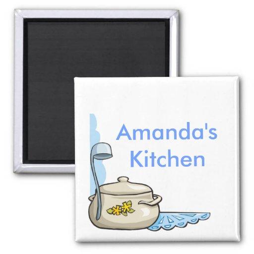 Kundenspezifische personalisierte Küchen-Magneten