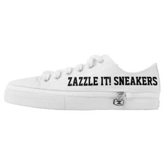 Kundenspezifische personalisierte niedrig-geschnittene sneaker