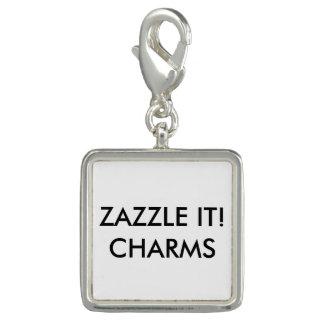 Kundenspezifische personalisierte silberne charm