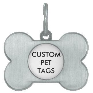 Kundenspezifische personalisierte tiermarke
