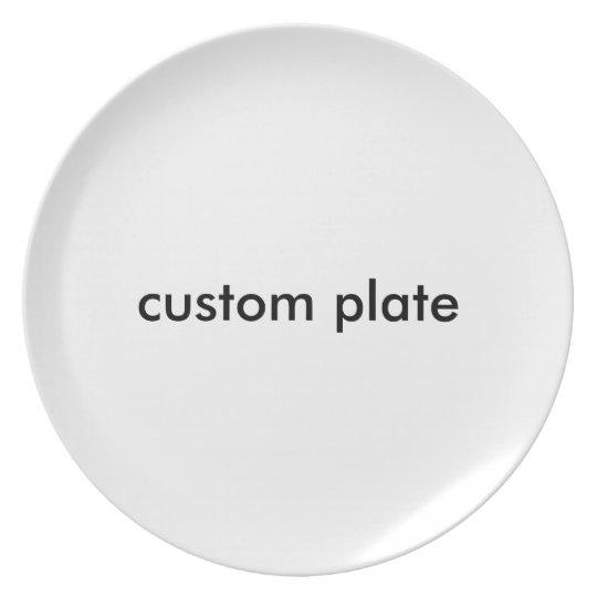 Kundenspezifische Platte Teller