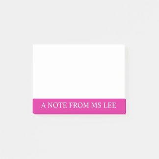 Kundenspezifische Post-Itanmerkungen Post-it Klebezettel