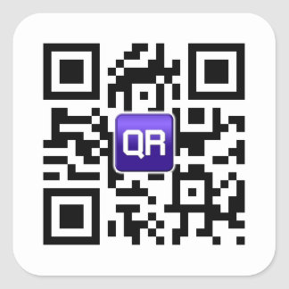 Kundenspezifische QR Code-Aufkleber