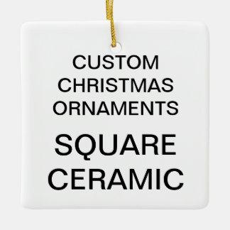 Kundenspezifische quadratische ornament