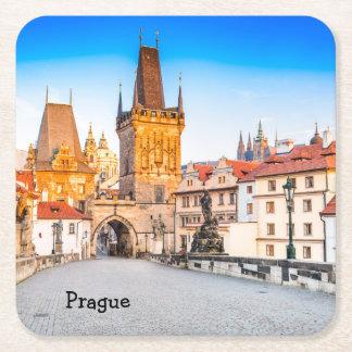Kundenspezifische quadratische Untersetzer Prag
