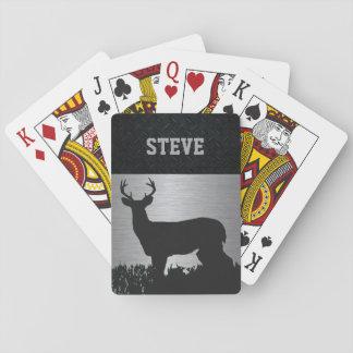 Kundenspezifische Rotwild, die schroffe Spielkarten