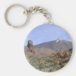 Kundenspezifische Schlüsselkette EL Teide Standard Runder Schlüsselanhänger