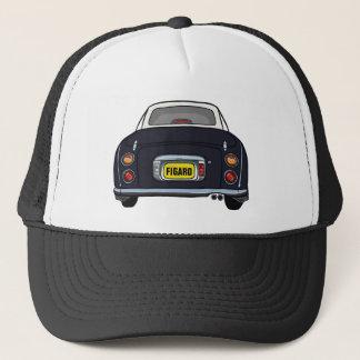 Kundenspezifische schwarze Nissan Truckerkappe
